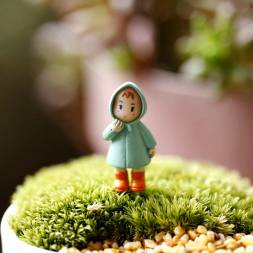 Cute Miniature Girl for Fairy Garden